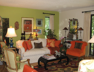 Living Room Interior Design on It Together Llc   Green  Sustainable And Traditional Interior Design