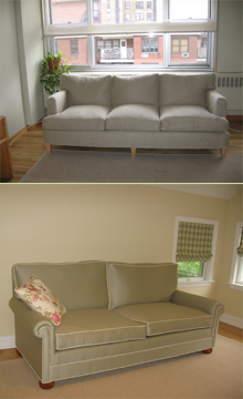 Custom Organic Sofas Completed In 2008