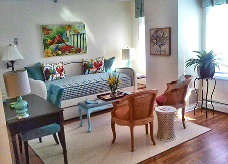 Studio Apartment Senior Living Community